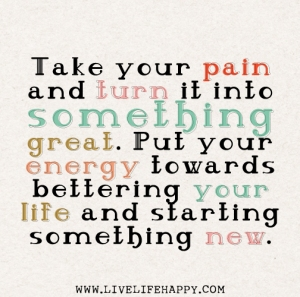 take your pain